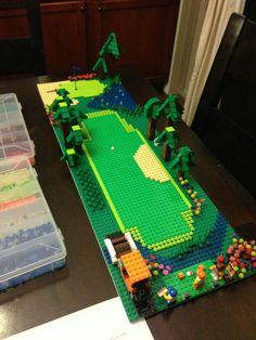 Lego baseball stadium instructions