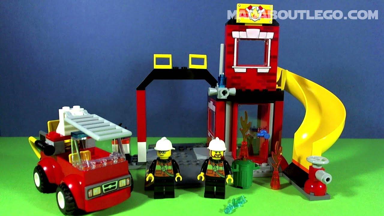 lego junior fire station instructions