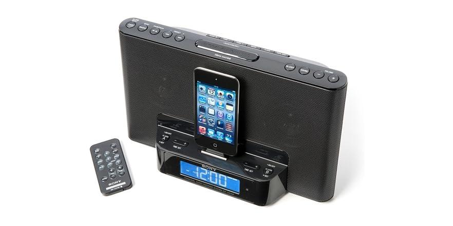 sony ipod dock alarm clock instructions