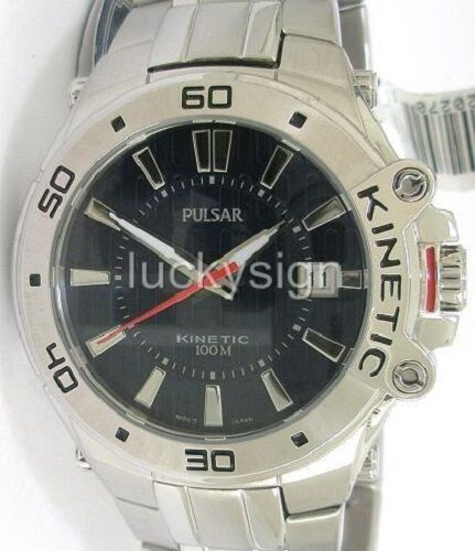 pulsar kinetic watch instructions