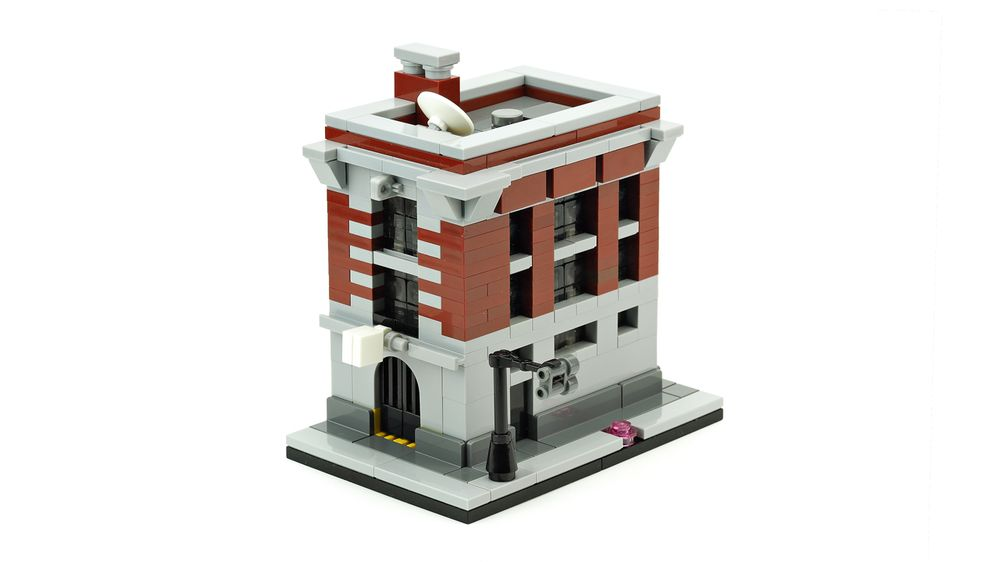 lego ghostbusters firehouse set instructions