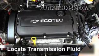 chevy cruze manual transmission fluid check