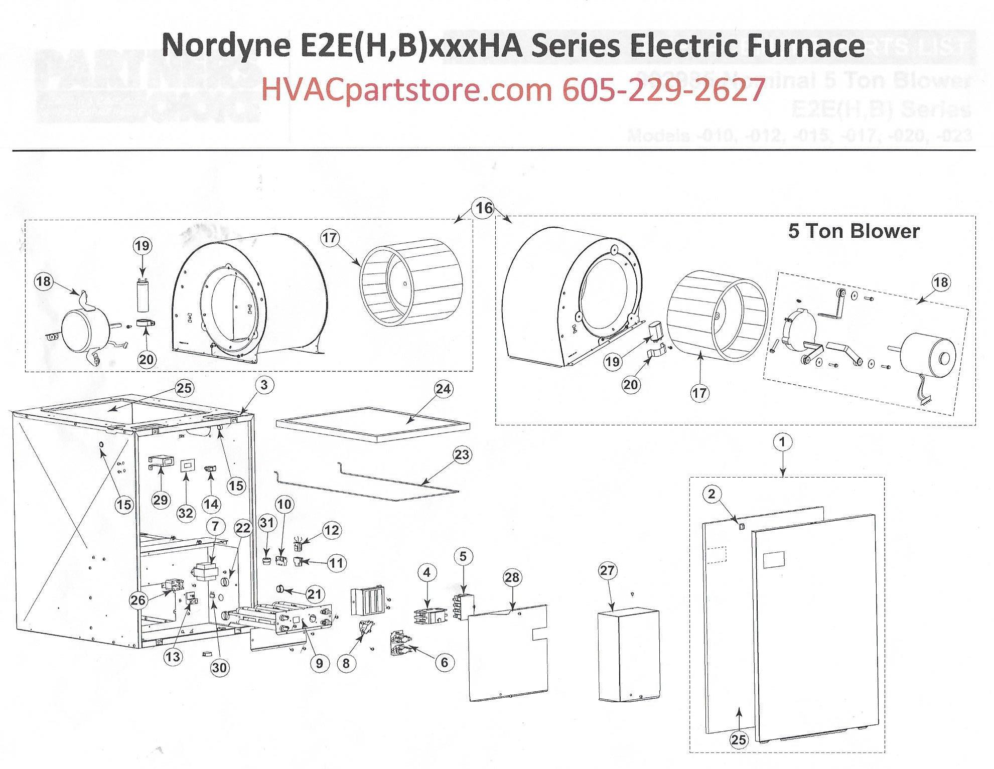 nordyne intertherm electric furnace manual