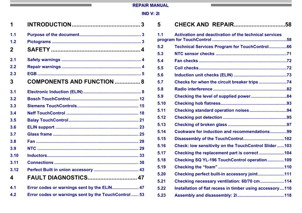 Induction cooker error codes pdf