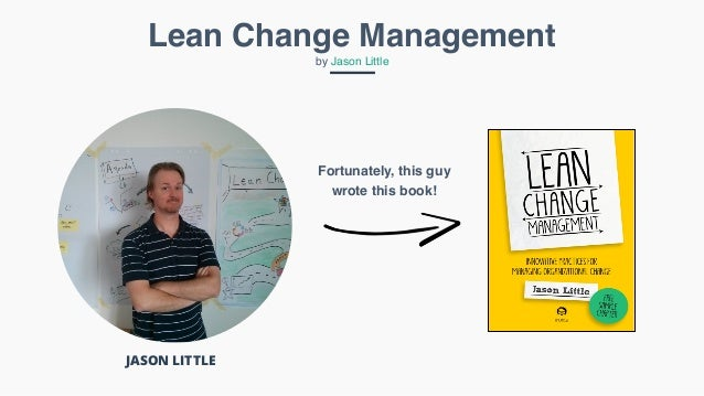 Lean change management jason little pdf