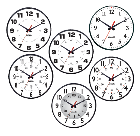 primex wireless wall clock instructions