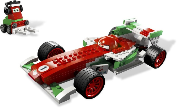 lego cars 2 siddeley instructions