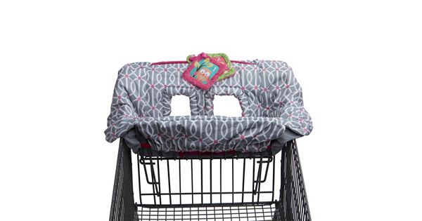 boppy shopping cart cover instructions