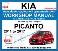 kia picanto repair manual pdf download