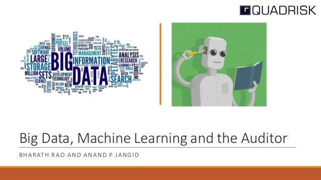 Machine learning and big data pdf