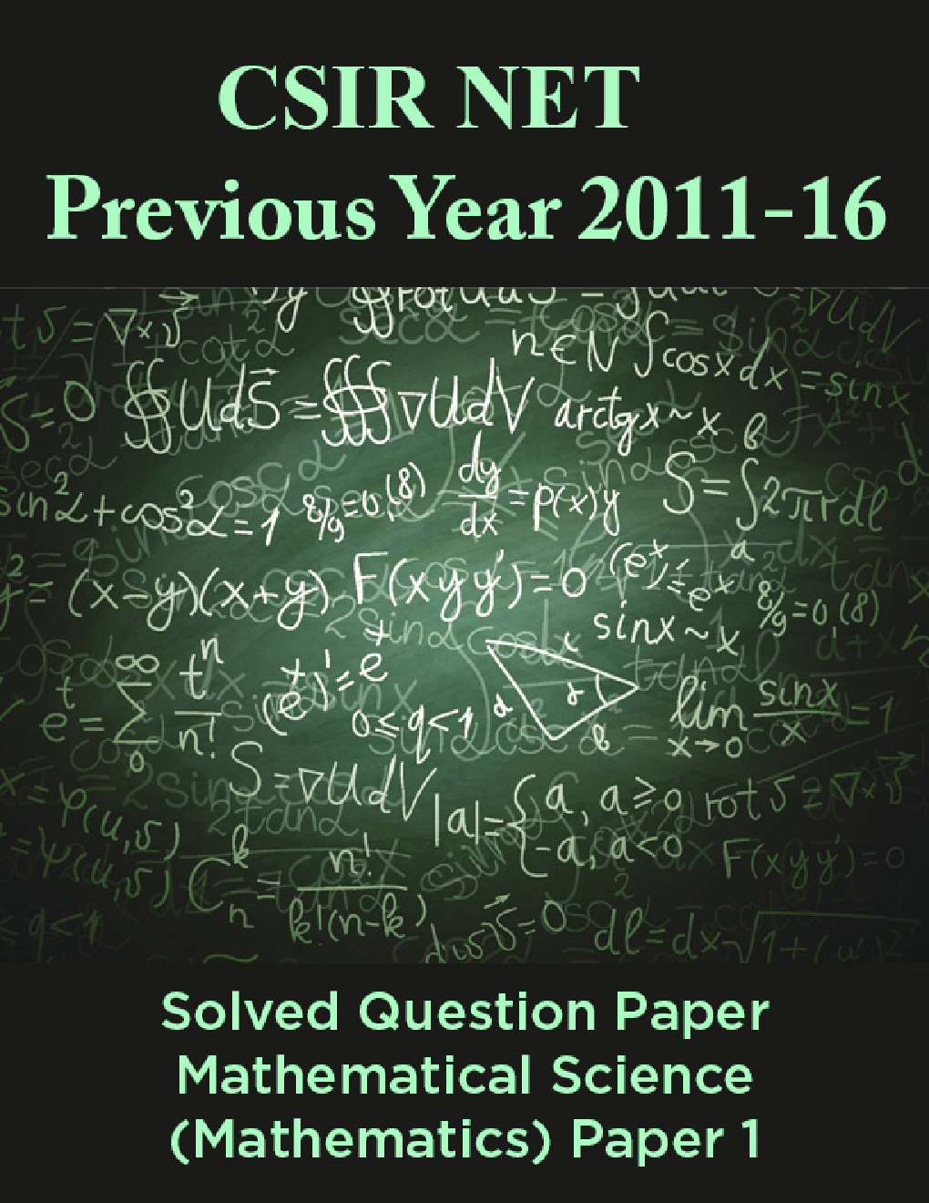 Csir net mathematics solved papers pdf