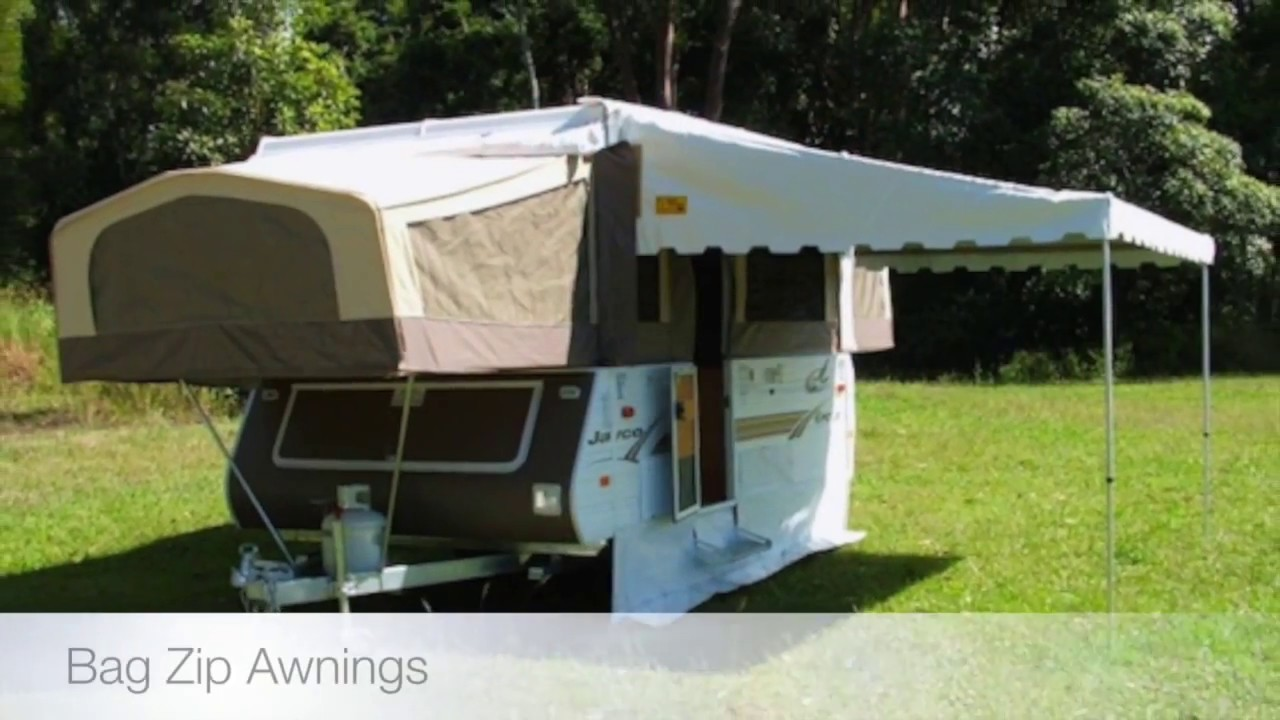 mounted instructions for caravan awnings