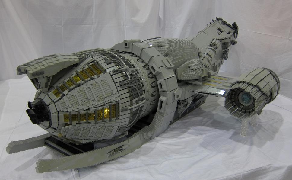 serenity ship lego instructions