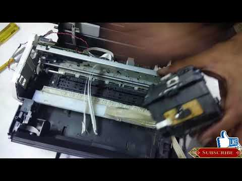 how to clean epson printer heads manually