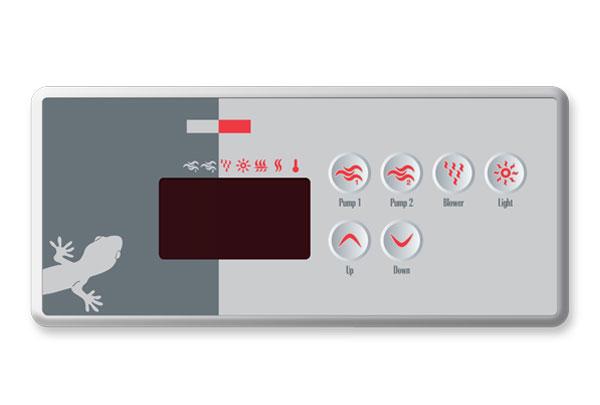 Gecko hot tub control panel manual