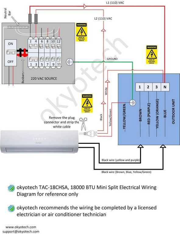 fujitsu halcyon mini split installation manual