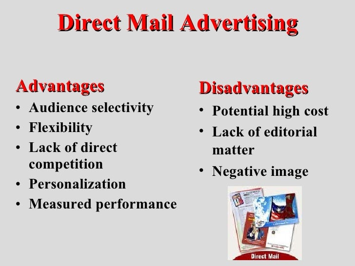 Advantages and disadvantages of direct marketing pdf
