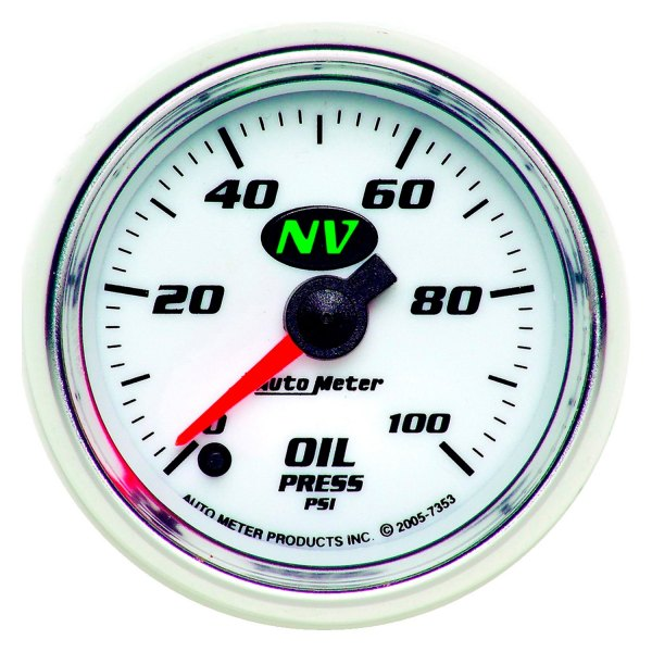 autometer nv oil pressure gauge install instructions