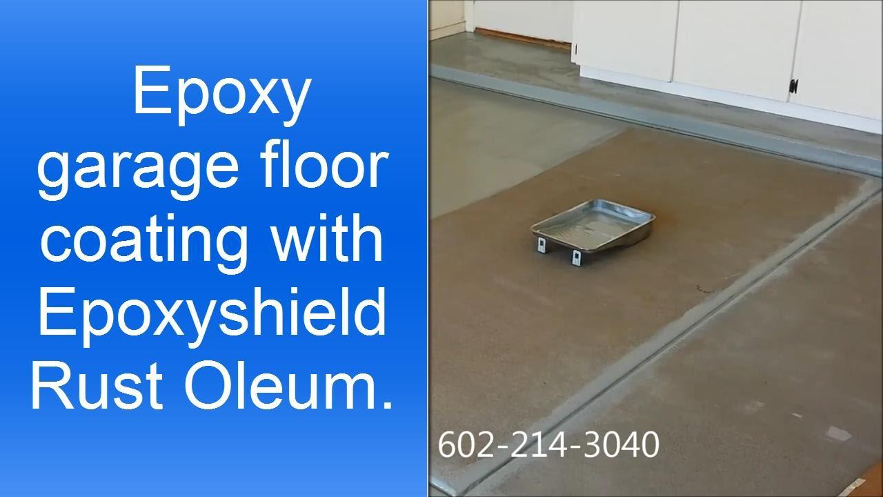 rustoleum garage floor epoxy instructions