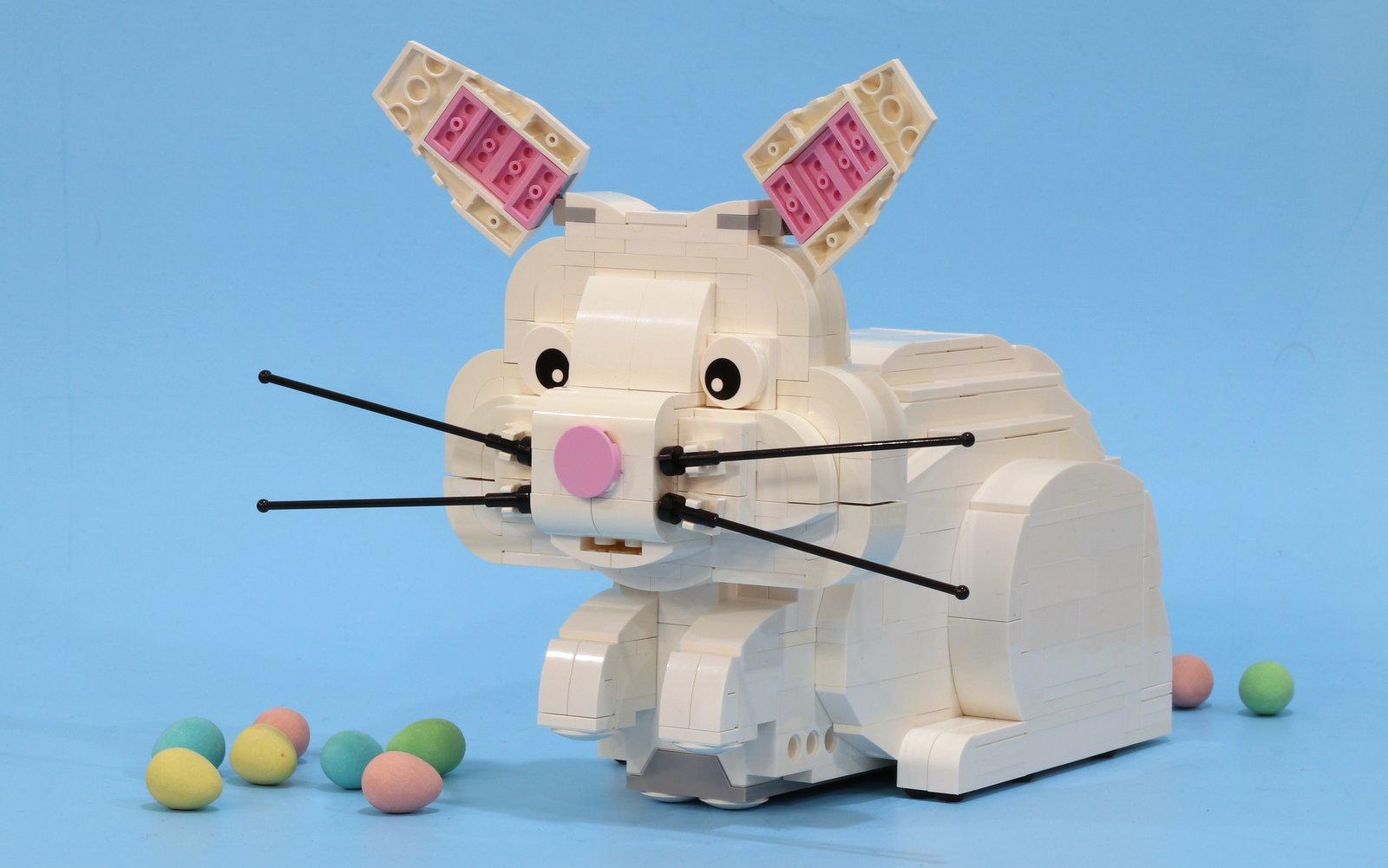 lego friends rabbit instructions