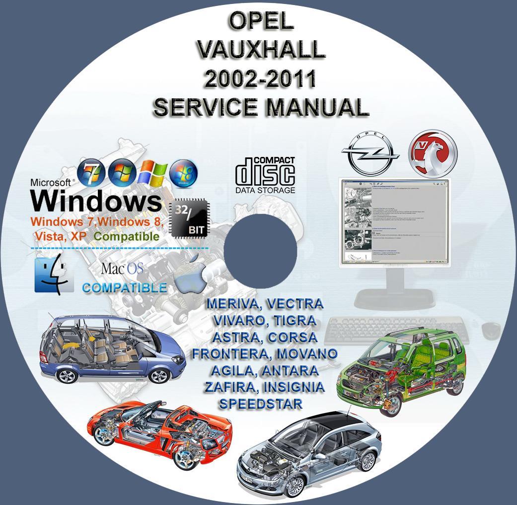 corsa c workshop manual free download