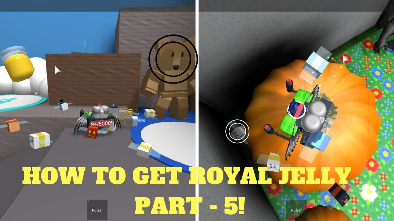 Bee swarm simulator roblox how to get all royal jelly