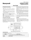 Honeywell security keypad 6160 manual