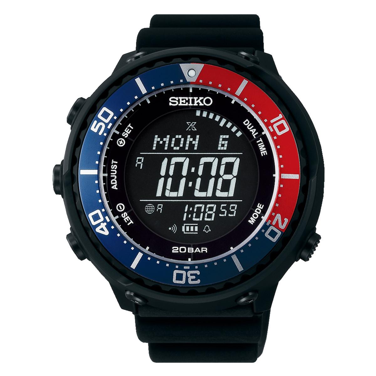 seiko digital watch setting instructions