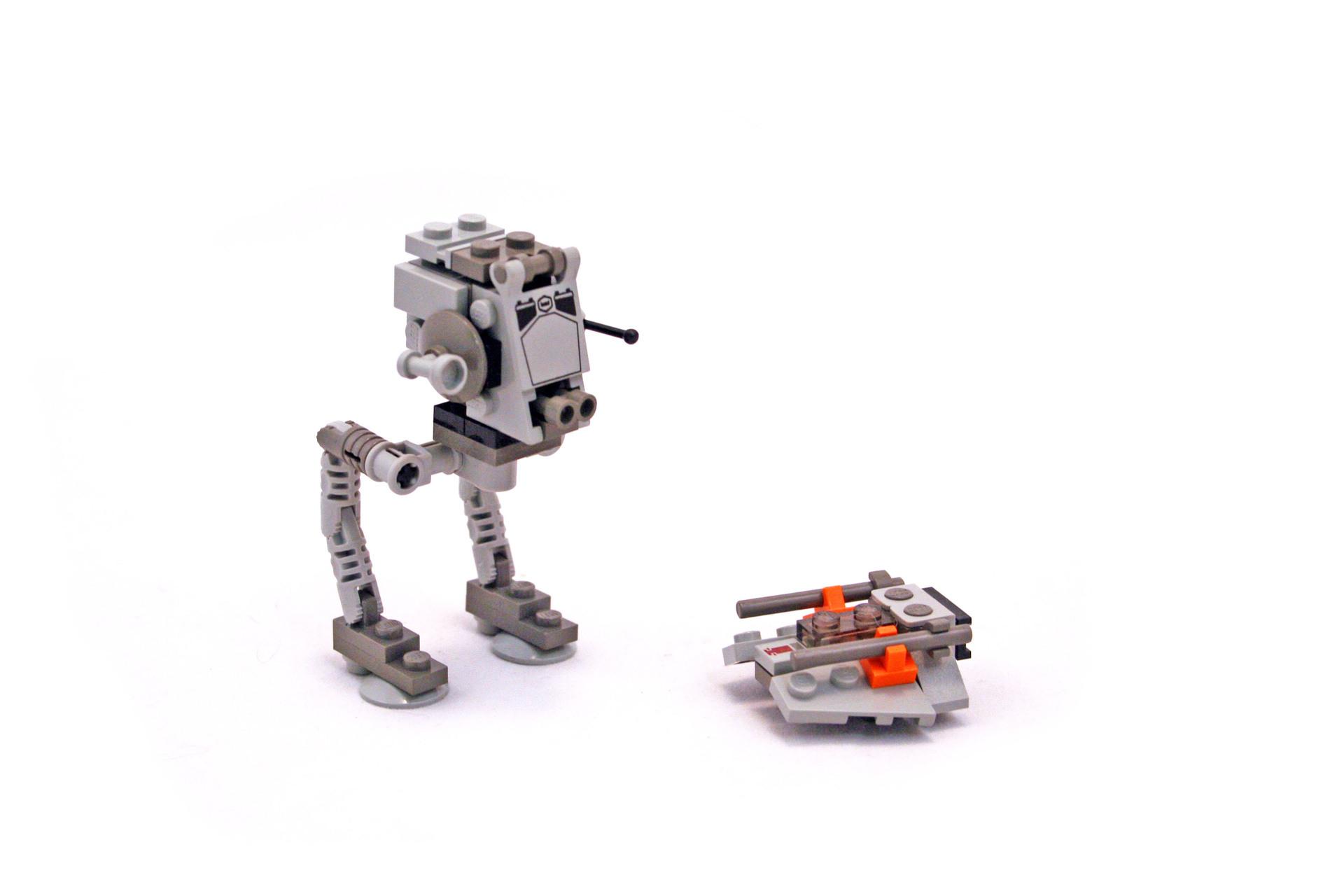 mini lego at-st instructions