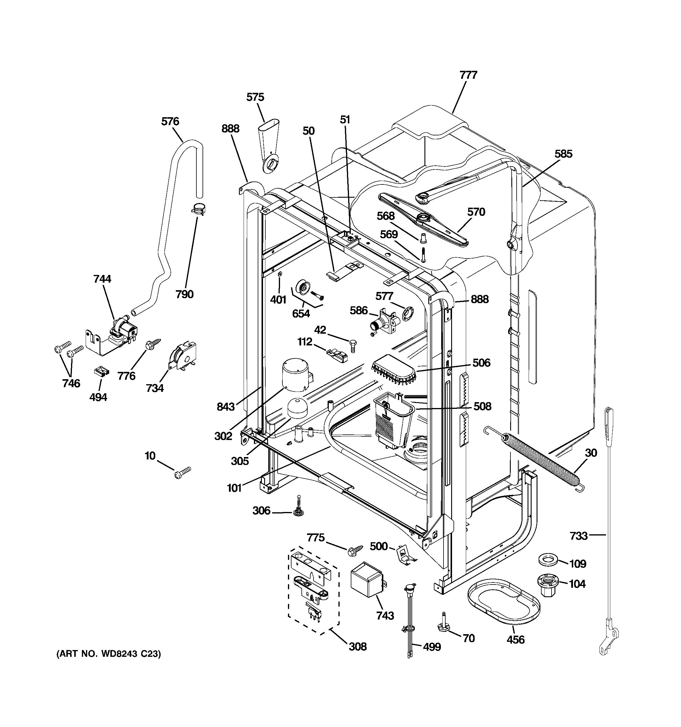 Ge nautilus dishwasher repair manual
