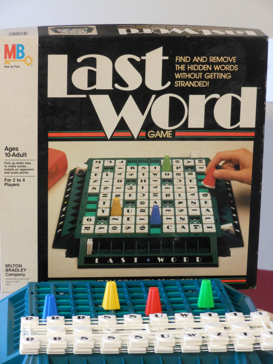 Last word game instructions