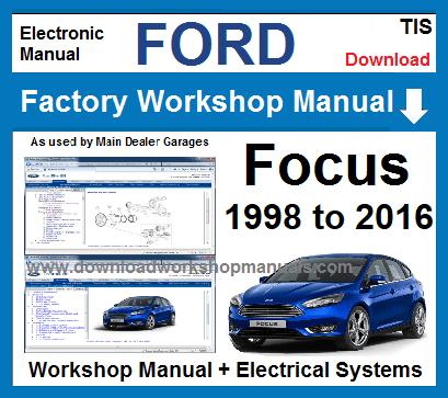 ford mondeo mk3 manual free download