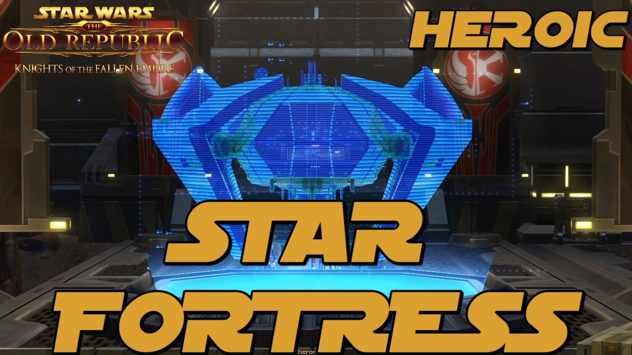 Swtor how to start heroic star fortress
