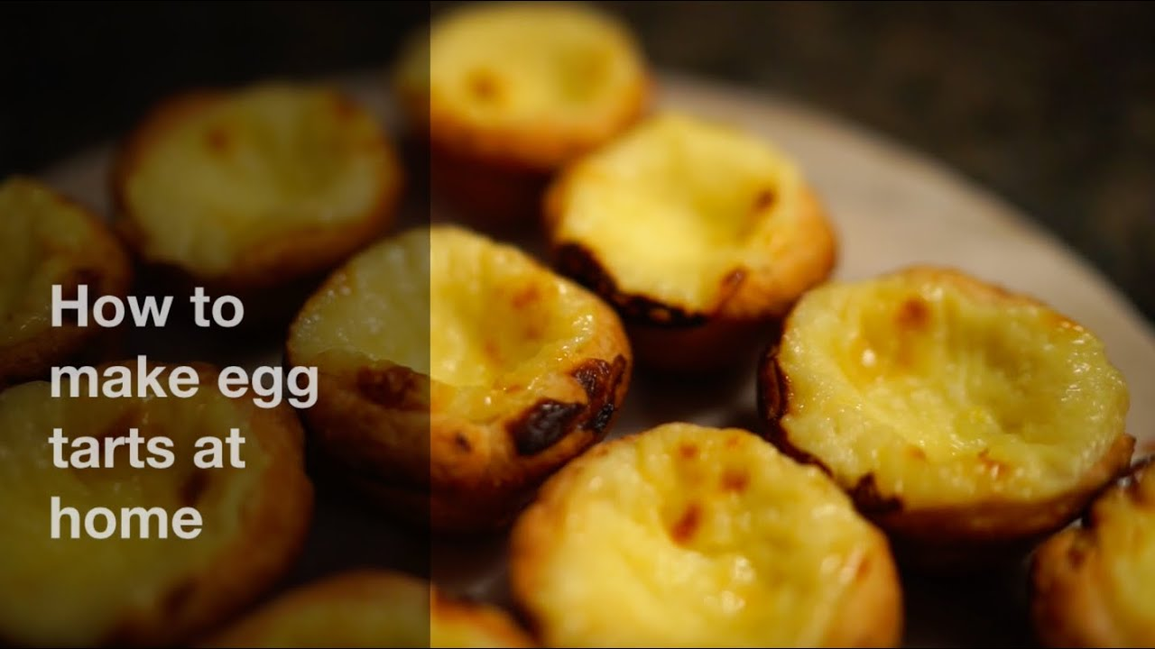 Video on how to make portuguese egg tarts