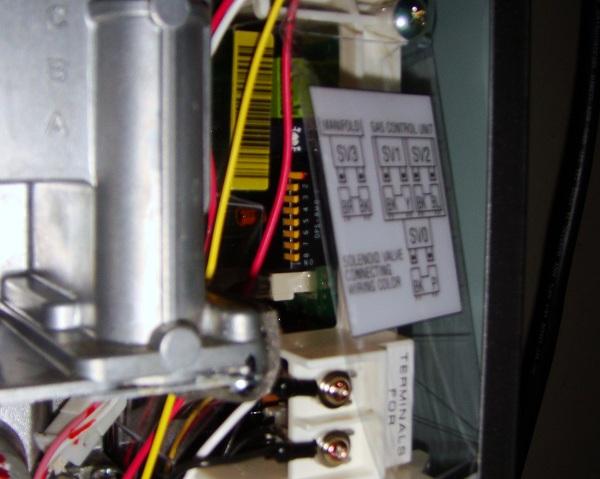 rheem water heater manual switch