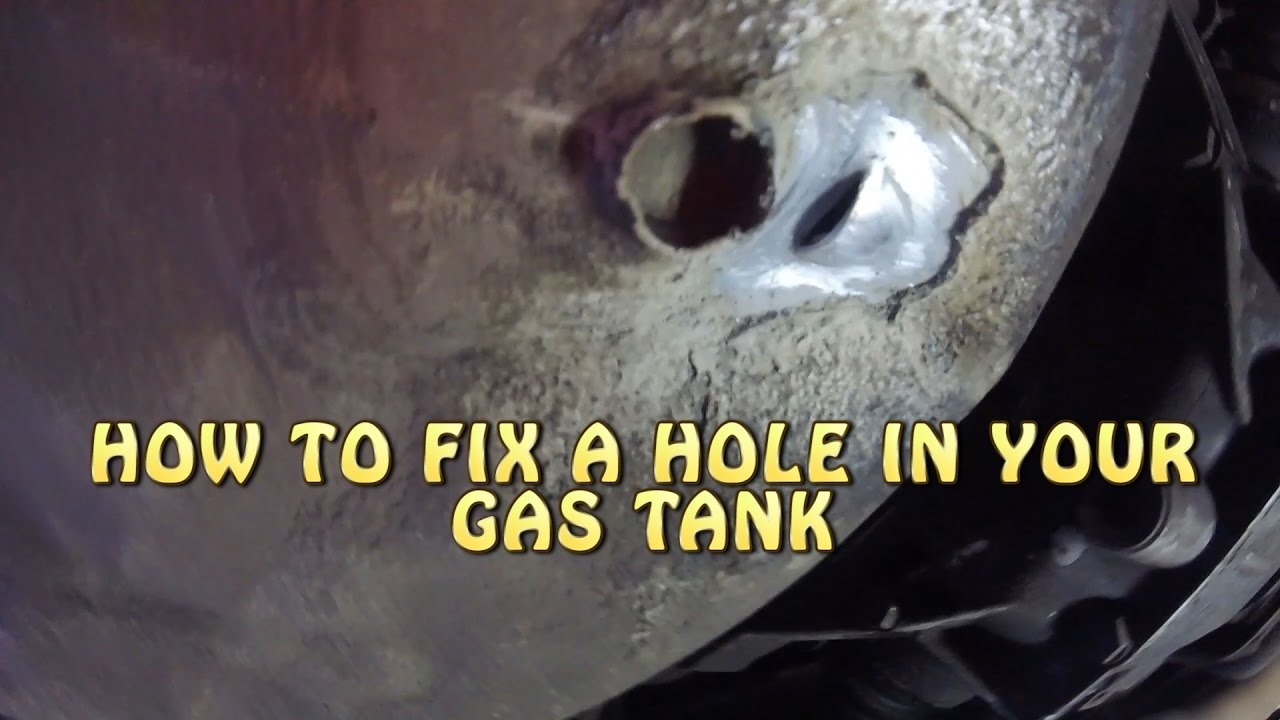 Oil i gas tank how to fix