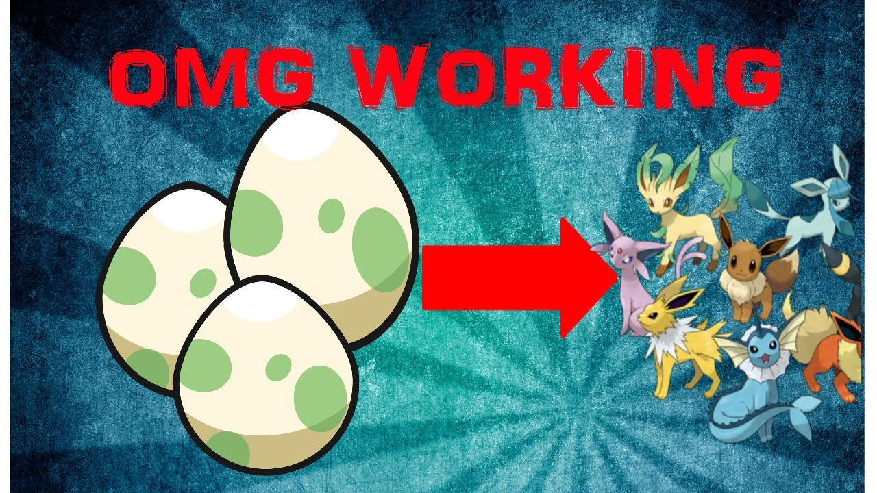 Pokemon brick bronze how to get eevee egg