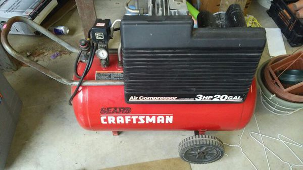 Craftsman 3hp air compressor manual