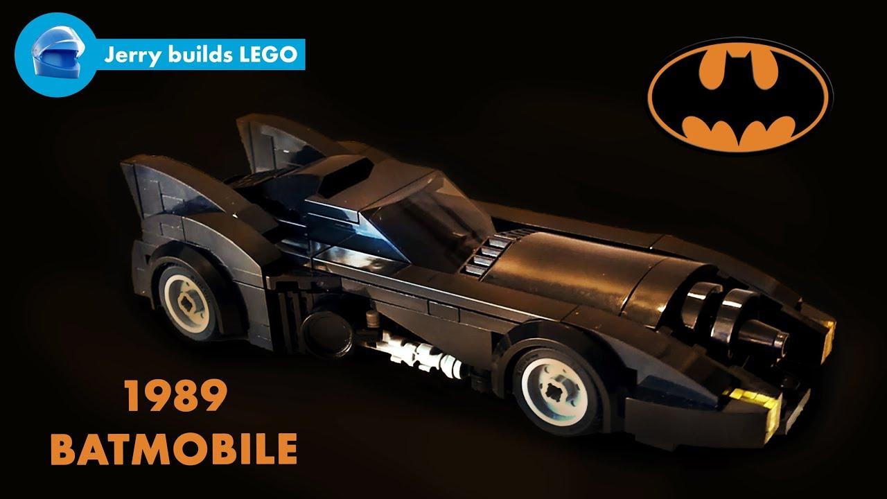 lego 1989 batmobile instructions