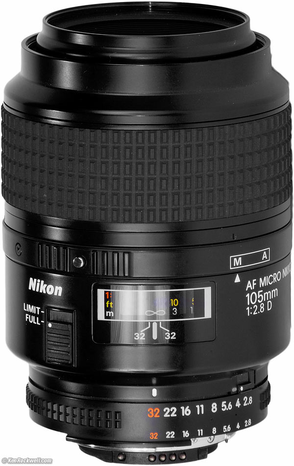 af micro nikkor 105mm f 2.8 d user manual