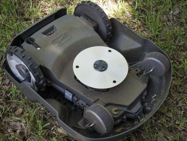 Husqvarna robot lawn mower how to get the edge