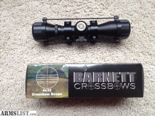 Barnett 4x32 multi reticle crossbow scope manual