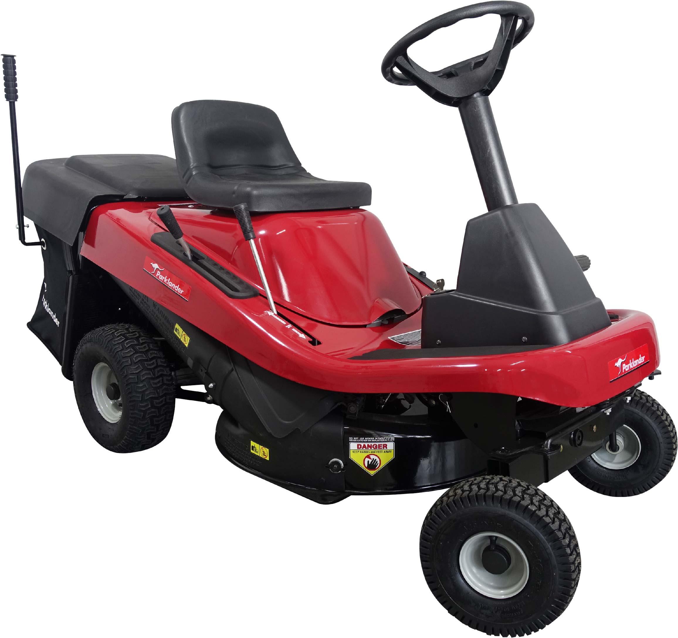 parklander ride on mower manual