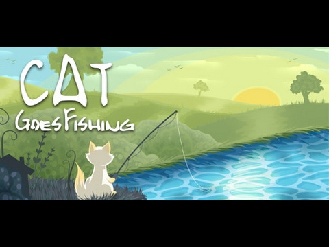 Cat goes fishing how to catch angle fish