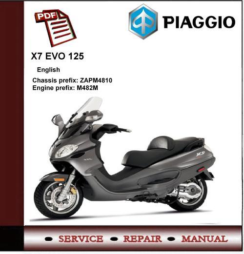 Piaggio typhoon 125 service manual