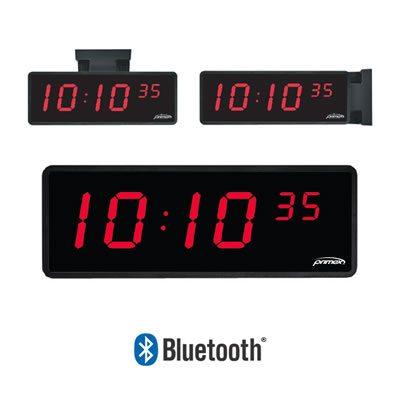 primex wireless wall clock instructions
