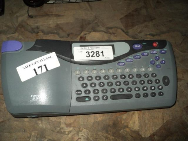 dymo 5500 electronic label maker manual