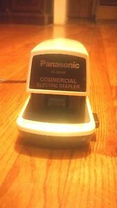 Panasonic electric stapler as 300 manual