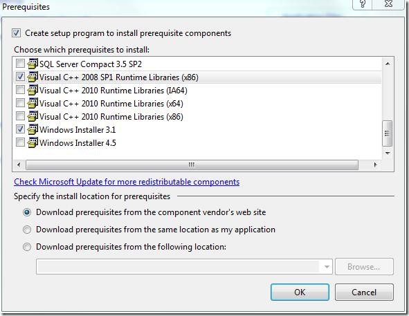 Vcredist_x86 exe application error