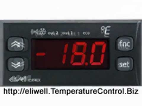 Eliwell id 961 controller manual